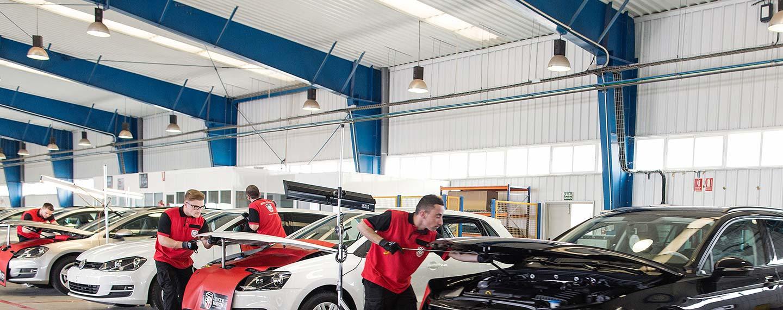 Mobile car repair service
